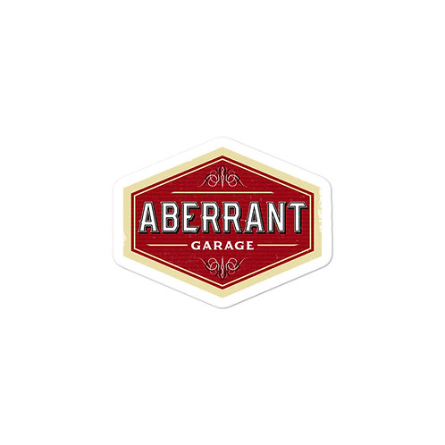 Aberrant Garage Sticker