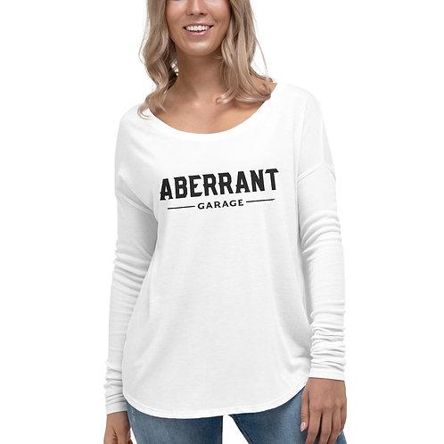 Women's Simple Black Long Sleeve T-Shirt