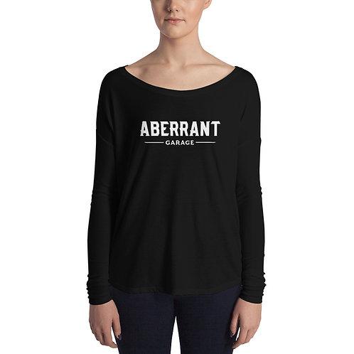 Women's Simple White Long Sleeve T-Shirt
