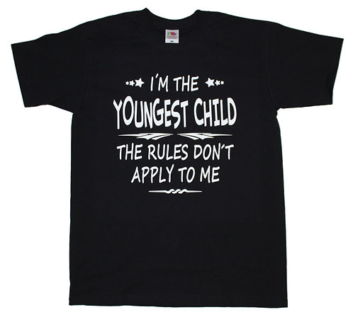 T-shirt I´m the Youngest child