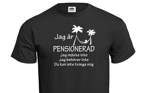 Jag är Pensionerad