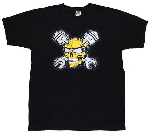 T-shirt Döskalle med vevstakar