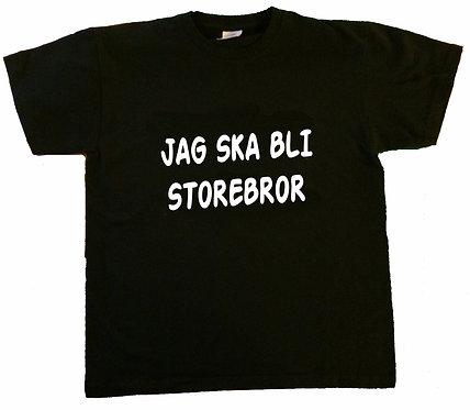 Barn t-shirt Jag ska bli storebror