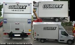 CourierX Skåpbil