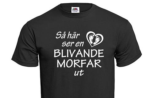 T-shirt Så här ser en blivande MORFAR ut
