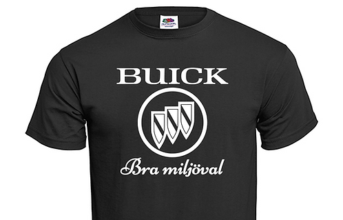 T-shirt Buick Bra miljöval
