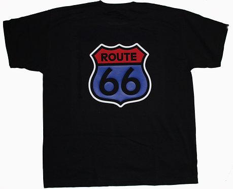 T-shirt Route 66 (flerfärgad)