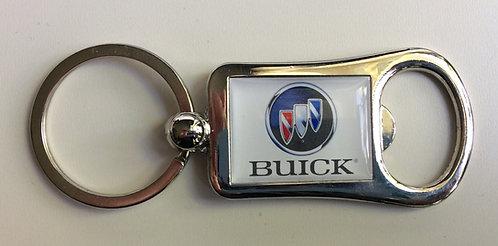 Nyckelring med öppnare bilmärken