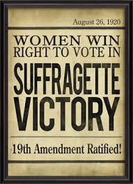 Suffragettes we need you!