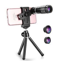 TECHO Professional 12X Zoom Telephoto Lens