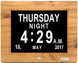Dementia Day & Calendar Clock