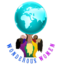 Wonderous Women Logo women elevating the world together
