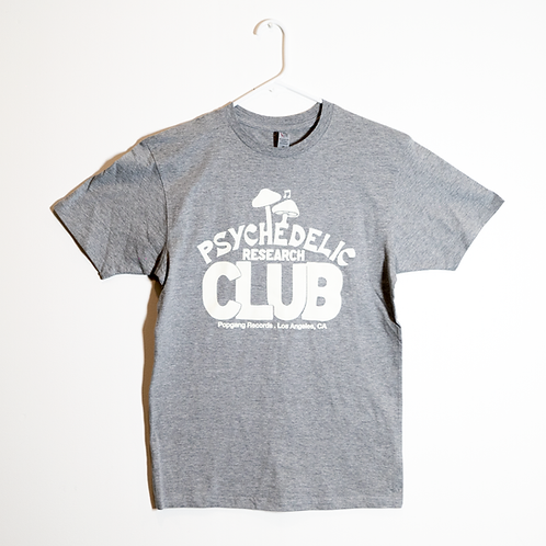 PRC Premium Fitted Lightweight Athletic Grey T-Shirt