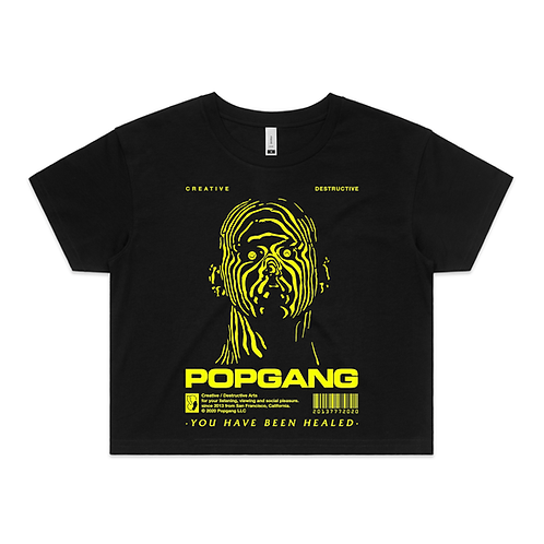 Popgang 2020 Women's Crop Top