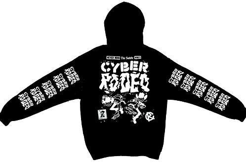 Cyber Rodeo Black Hoodie