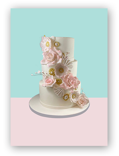 Wedding Cake 7 | A Love for Cakes | Queens, New York, NYC
