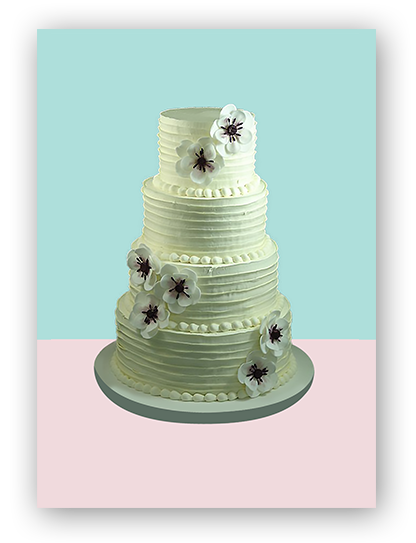 Wedding Cake 2 | A Love for Cakes | Queens, New York, NYC