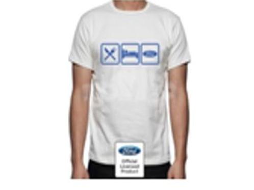 Genuine Ford Tee shirt - 'Eat-Sleep-Ford'