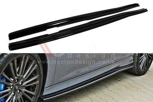 Focus RS Mk3 MAXTON DESIGN SIDE SKIRTS DIFFUSORS (BLACK) FOR FORD FOCUS MK3 RS
