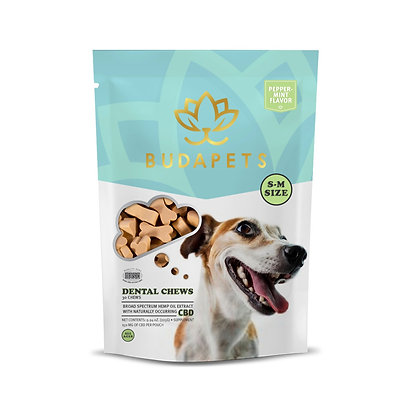 CBD DENTAL CHEWS for Small-Medium Dogs Peppermint Flavor