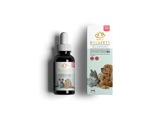 CBD TINCTURE for Dogs & Cats 150mg Natural Bacon Flavor