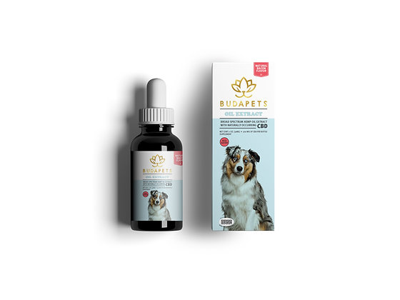 CBD TINCTURE for Dogs  300mg Natural Bacon Flavor