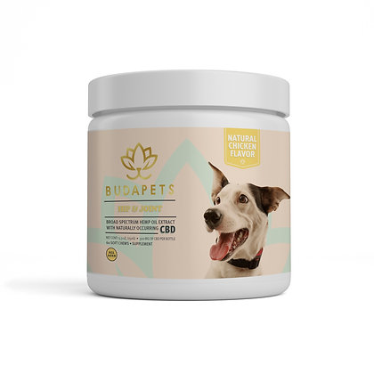CBD HIP AND JOINT Chews Natural Chicken Flavor