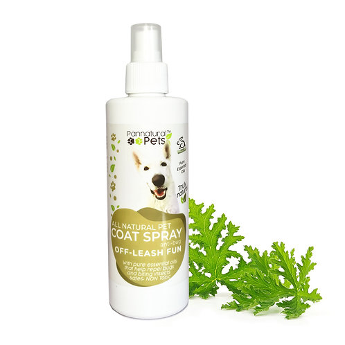Pannatural Pets Natural Insect Repellent Spray – Off Leash Fun