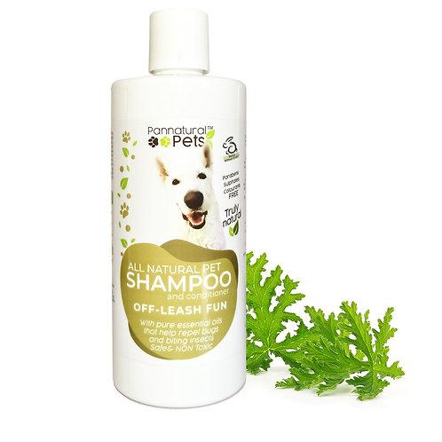 Pannatural Pets Natural Insect Repellent Shampoo – Off Leash Fun