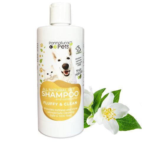 Pannatural Pets Fluffy & Clean Shampoo