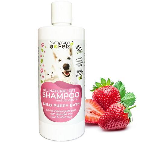 Pannatural Pets Mild Puppy Shampoo