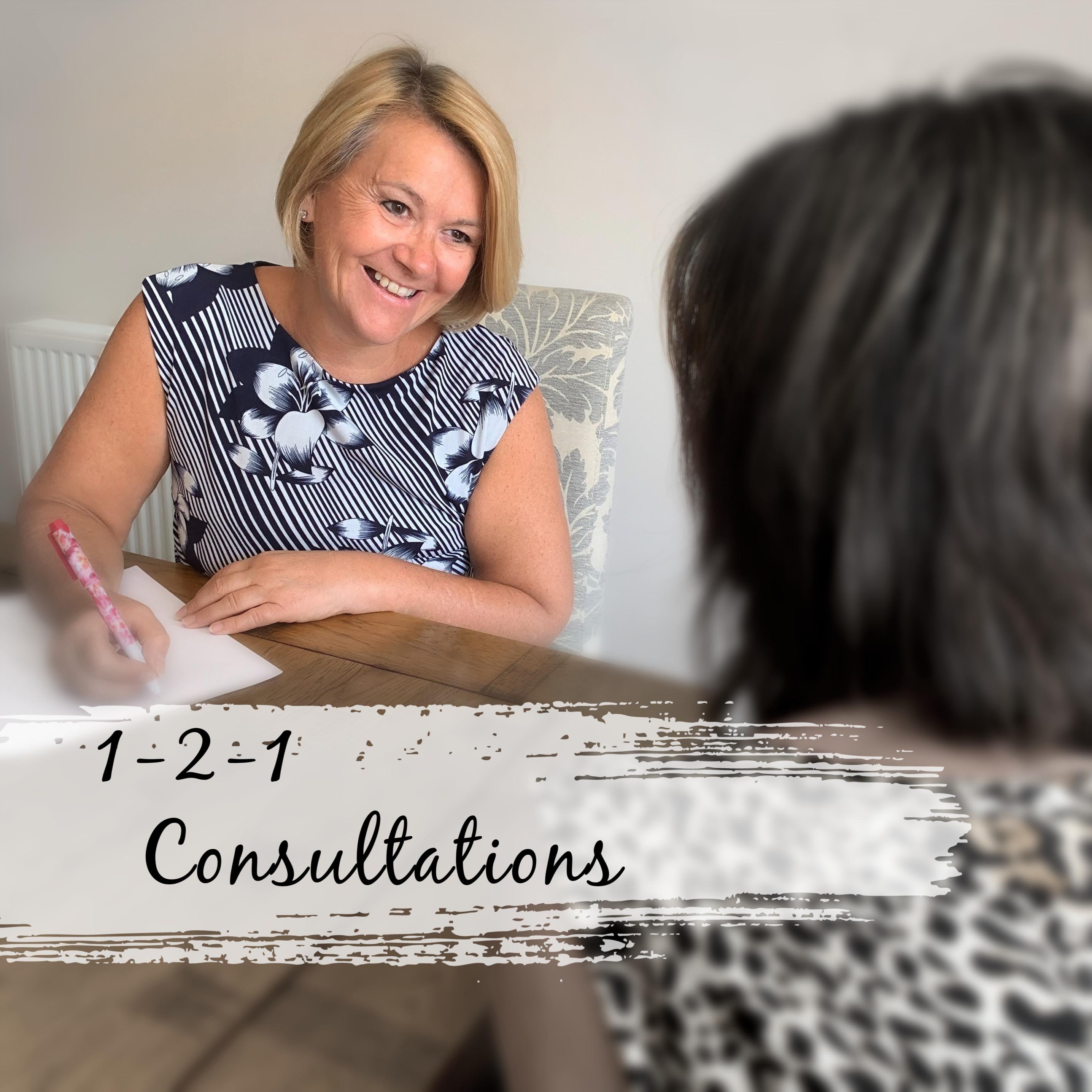 1-2-1 Consultation