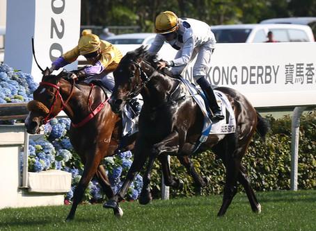 Gangnant! Winners aplenty in a favourite's Derby