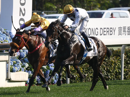 Gangnant! Winners aplenty in a favourite's Derby