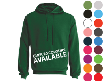 Hoodies (free text logo, stitch or vinyl)