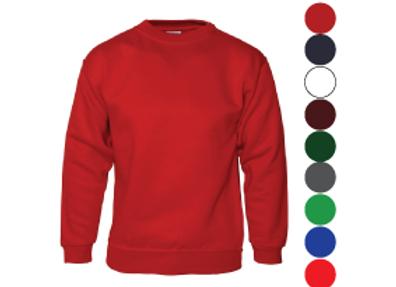 Sweatshirts (free text logo, stitch or vinyl)