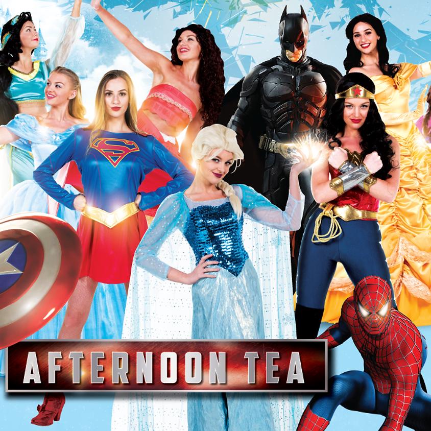 Superhero And Fairytale Afternoon Tea