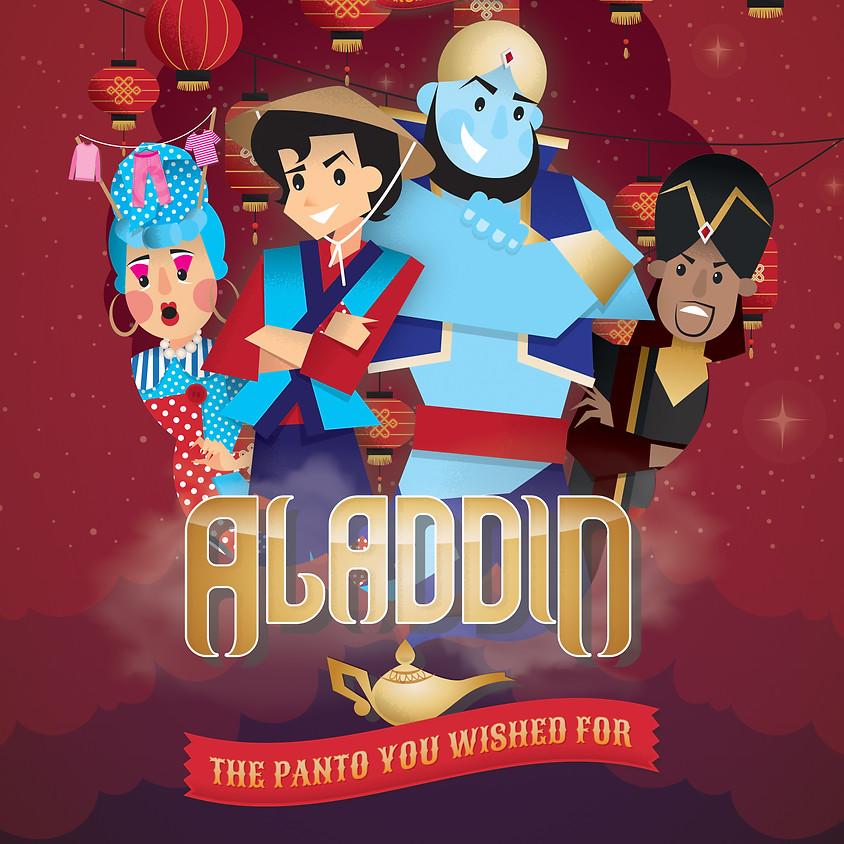 Aladdin Panto mime