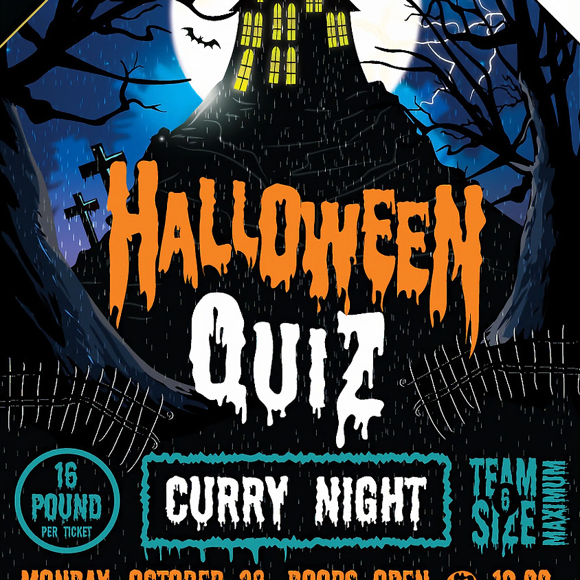 Halloween Quiz and Curry Night