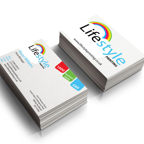 Lifestyle printing printing products business cards reheart Gallery