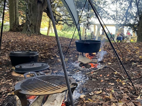 August update- Belmont  and Brogdale Cooking Workshops