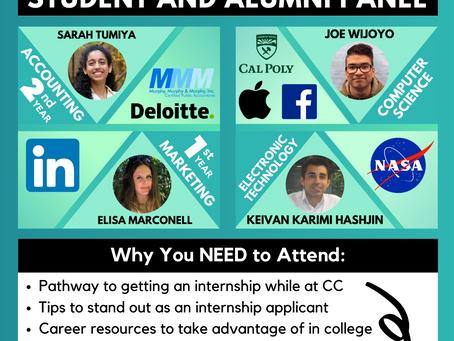 Internship Experience Panel