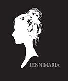 JenniMaria logo uusi musta.png