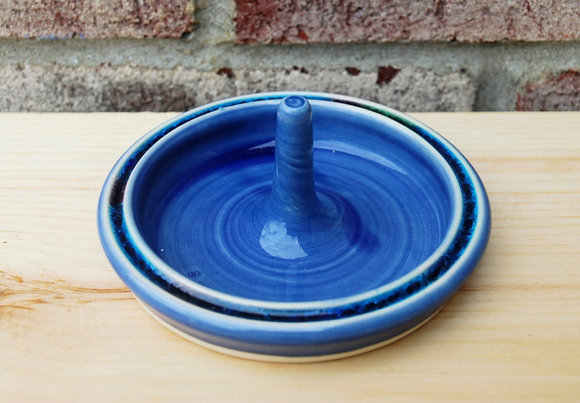 Blue Ring Holder