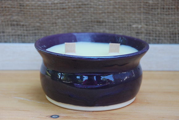 Large Purple Citronella Candle