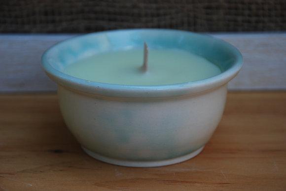 Small Green Bubble Citronella Candle