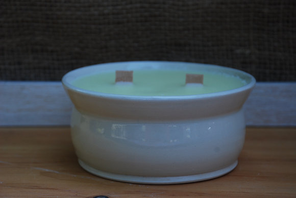 Large White Citronella Candle