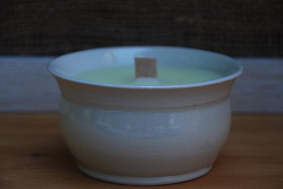 Medium White Citronella Candle