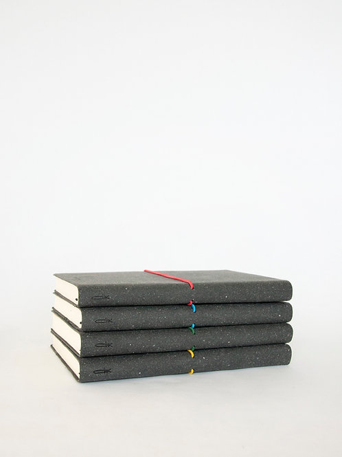 Recycled Leather Notebook (L)