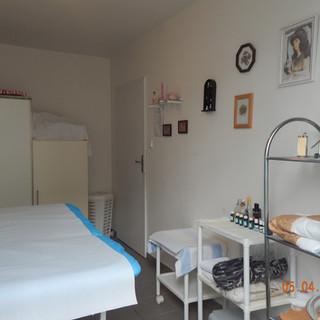 místnost pro masáže